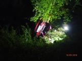Dva řidiči na Příbramsku skončili svou noční jízdu nárazem do stromu. V obou případech putovali zranění do nemocnice