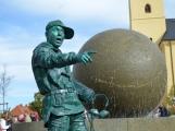 Agentuře VDN promo se podařilo oživit nejen sochy, ale i Pražskou ulici
