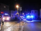 Aktuálně: Požár budovy v centru města zaměstnává devět jednotek hasičů