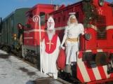 Mikulášský vlak sveze hodné i zlobivé
