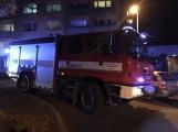 Nahlášený požár přivolal na sídliště hasiče