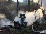 Aktuálně: Hasiči zasahují u požáru nedaleko nemocnice