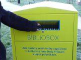 Knihy nově můžete vrátit i do biblioboxu