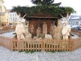 Jak vypadá letošní vánoční betlém v plné kráse?