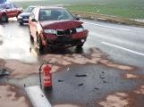 Aktuálně: Zraněním skončila dopravní nehoda na Skalce