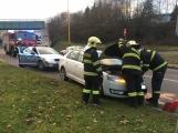 Aktuálně: Po střetu dvou vozidel kolabuje doprava na Flusárně