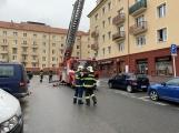 Aktuálně: Silný vítr zaměstnává hasiče