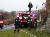Aktuálně: Požár rodinného domu zaměstnává hasiče na Příbramsku