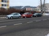 Aktuálně: Nehoda tří vozidel komplikuje dopravu v Brodské