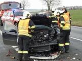 Aktuálně: Střet dvou vozidel povolal záchranáře na Skalku