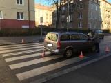 Aktuálně: Řidička srazila chodkyni, ta je v péči záchranářů