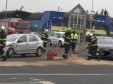Aktuálně: Střet dvou vozidel omezuje provoz na Dobříši