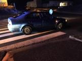 Aktuálně: Řidič srazil chodce na přechodu ve Školní ulici