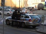 Policie dnes zřejmě obviní muže kvůli přepadení banky v Příbrami