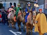 V sobotu zavítají do Příbrami Tři králové na živých velbloudech