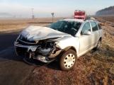 Aktuálně: Hromadná nehoda uzavřela silnici u Sedlčan