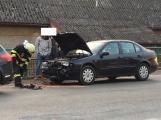 Aktuálně: Při nehodě v Obořišti došlo ke zranění