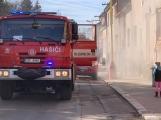 U Svaté Hory zasahují hasiči, ulice Na Leštině je nyní uzavřena