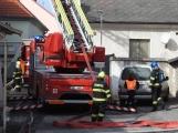 Aktuálně: Po výbuchu plynu došlo ke zranění osob. V místě přistává vrtulník!