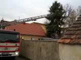 Středočeští hasiči vyjížděli kvůli větru stokrát, již je klid