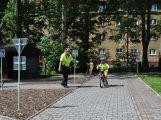 Děti z příbramských školek se učily základy dopravní výchovy a zdravovědy