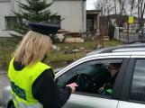 Policisté kontrolovali používaní bezpečnostních pásů