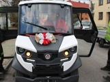 Služby městyse Jince získaly elektromobil