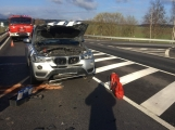 Aktuálně: Při cestě do Prahy opatrně! Na Skalce došlo ke střetu tří vozidel