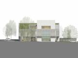 Takto by měla vypadat dobříšská knihovna se spolkovým domem