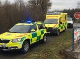 Aktuálně: Dopravní nehoda uzavřela silnici na Chraštice