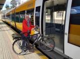 České dráhy budou letos přepravovat bicykly na více než 7000 spojích