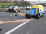 Aktuálně: Dopravní nehoda omezuje provoz na dálnici D4