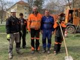 Nově zřízená četa Technických služeb města Příbram začala fungovat