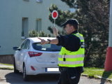 Městští strážníci se zaměřili na dodržování rychlosti ve Školní ulici