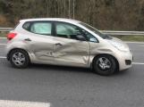 Dopravní nehoda omezuje provoz na výjezdu z Příbrami