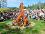 Čarodějnice na Nováku si užily především děti