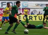 Minimum šancí, málo diváků a žádný gól. 1.FK veze z Teplic bod.