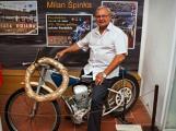 V Chotilsku se v pátek otevřela výstava motocyklů JAWA