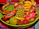 Vzduch byl naplněn vůní exotického ovoce