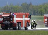 Okamžiky hrůzy: Nad letištěm krouží letadlo s vážnou technickou závadou!