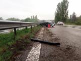 Aktuálně: Provoz na dálnici opět omezuje dopravní nehoda