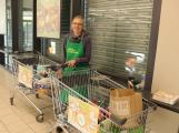 Příbramáci nejsou lhostejní - darovali téměř dvě a půl tuny potravin a drogerie těm, kteří to nejvíce potřebují!