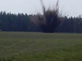 Pyrotechnik musel odpálit velké množství nalezené munice