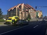 Policisté hledají svědky úterního incidentu u příbramského obchodního domu Skalka