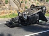 Aktuálně: Po vážné dopravní nehodě je uzavřena Strakonická