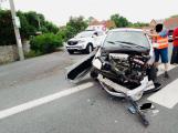 Aktuálně: Nedal přednost traktoru, zdemoloval Hyundai
