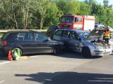 Aktuálně: Výjezd z Lidlu komplikuje dopravní nehoda se zraněním nezletilé osoby