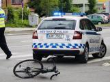 Aktuálně: V centru Příbrami byl sražen cyklista