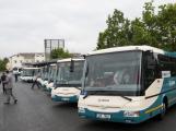 Máte dotazy k integraci Příbramska do PID? Navštivte infostánek nebo historický autobus