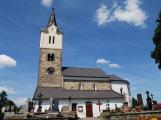 V obděnickém kostele pokračuje restaurování historické výmalby